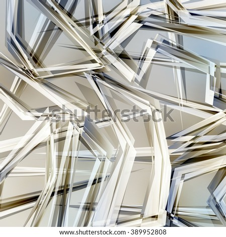 Abstract geometric background #389952808