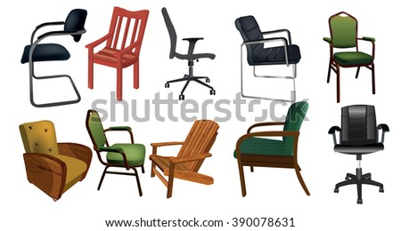 Chair collection #390078631