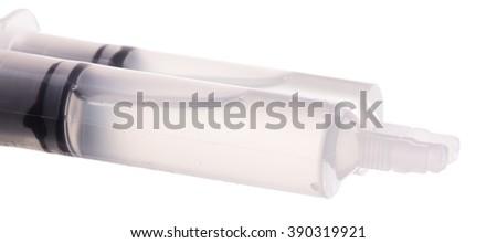 Tubes of Glue isolated on White Background #390319921
