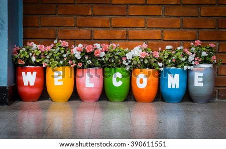 welcome Royalty-Free Stock Photo #390611551
