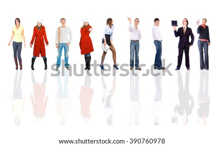 Business Compilation Together we Stand  #390760978