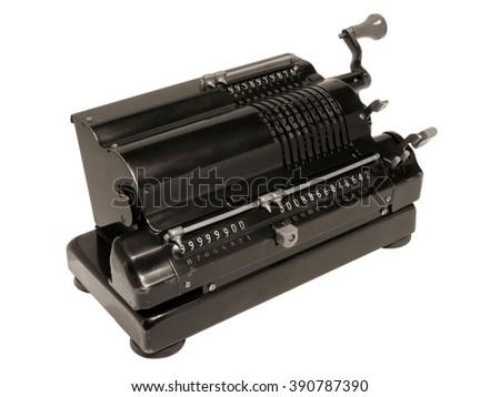 Mechanical calculator                               #390787390