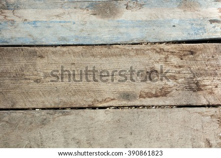 texture of old yellow planks, close up #390861823