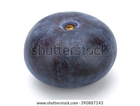 Fresh Blueberry isolated on white background with clipping path. #390887143