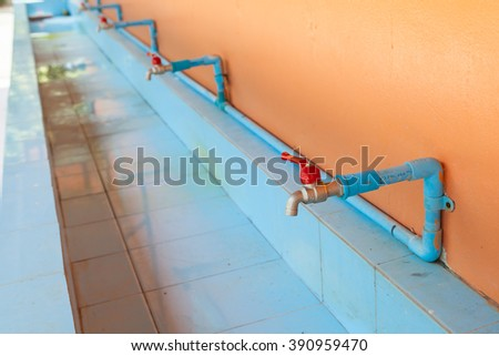 faucet at schools in thailand #390959470