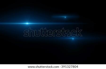 Lens flare light Royalty-Free Stock Photo #391327804