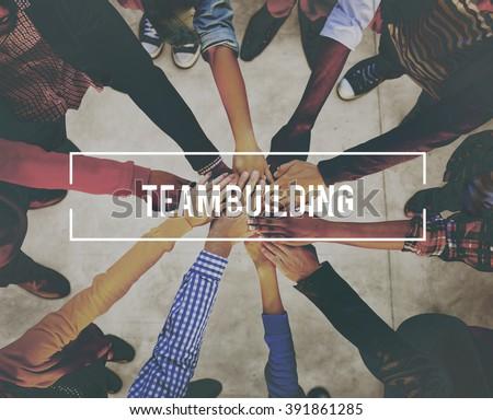 Team Building Business Collaboration Development Concept #391861285