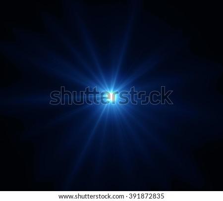 Lens flare light Royalty-Free Stock Photo #391872835