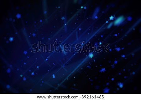 Blue bright abstract background with stars #392161465