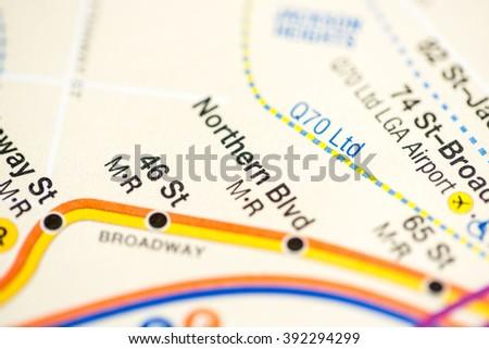 Northern Blvd. 6 Av/Central Park West/Queens Blvd/Myrtle Blvd Li #392294299