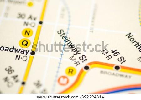 Steinway St. 6 Av/Central Park West/Queens Blvd/Myrtle Blvd Line #392294314