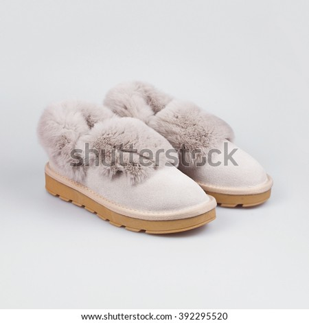 winter white female shoes #392295520