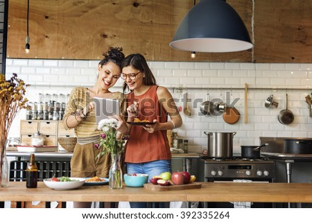 Friends Chef Cook Cooking Concept Royalty-Free Stock Photo #392335264