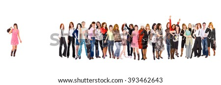 Workforce Concept Business Idea  #393462643
