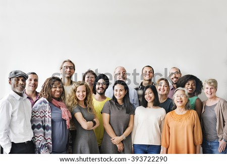 Diversity People Group Team Union Concept Royalty-Free Stock Photo #393722290