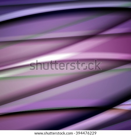 Abstract background created using colorful overlaid stripes. Vector illustration, can be used for presentations, graphic designs brochures, web design. #394476229