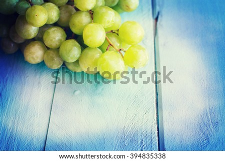 Bunch of green grapes #394835338