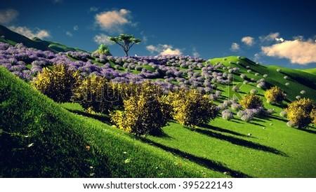 Lavender fields #395222143
