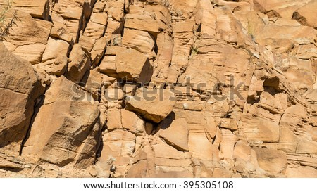 Sunny rock surface as background image #395305108