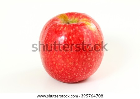 red apple Isolated on white background #395764708
