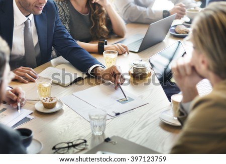 Business Corporate Management Planning Team Concept Royalty-Free Stock Photo #397123759