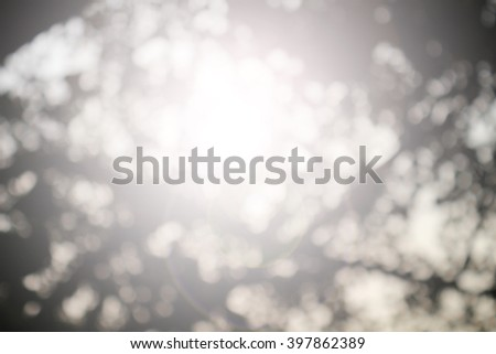 Nature abstract bokeh blurred background. give life air Tree growth day hot summer future outdoor earth backdrop green natural room heaven blur sustainability fun be moody Mineral Good eyesight  #397862389