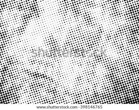 halftones background.Distress Dirty Damaged Spotted Circles Overlay Dots Texture . Grunge Effect .