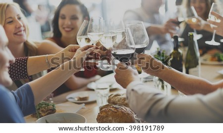 Business Celebrate Cheerful Enjoyment Festive Concept #398191789