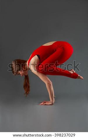 bakasana yoga #398237029
