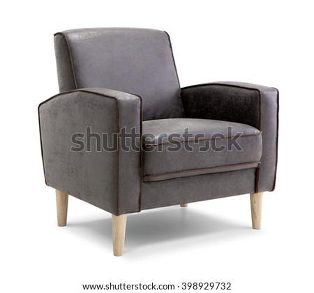 Leather Armchair #398929732