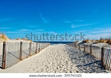 Seaside Beach  Royalty-Free Stock Photo #399741505