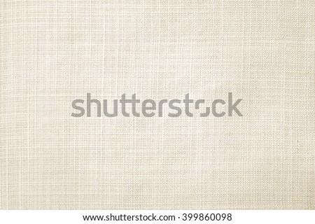 Light cream linen fabric texture wallpaper background.