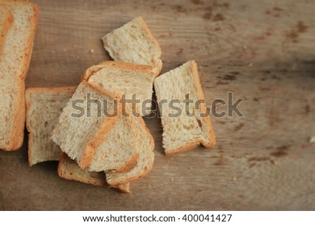 Slice whole wheat bread #400041427