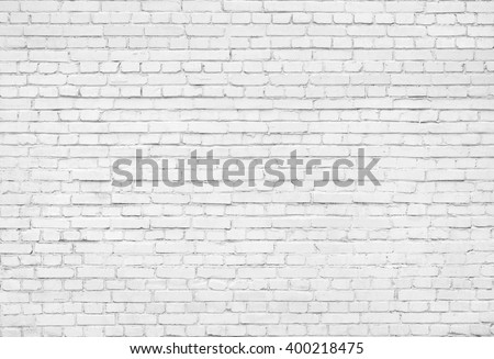 White brick wall texture background #400218475