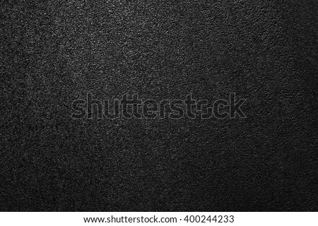 Smooth asphalt road. The texture of the tarmac, top view. #400244233