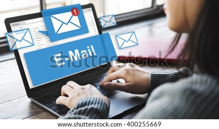 Email Inbox Electronic Communication Graphics Concept #400255669