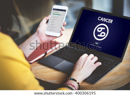 Cancer Astrology Horoscope Zodiac Concept #400306195