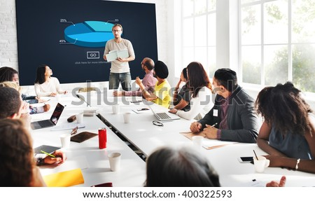 Pie Graph Analysis Statistics Report Concept Royalty-Free Stock Photo #400322593