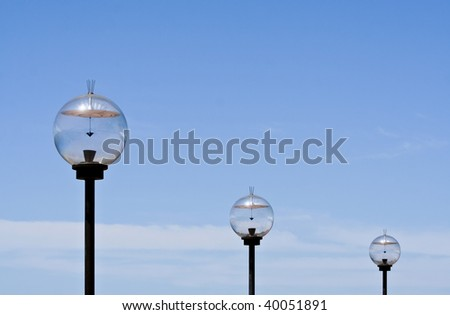 3 solar powered light globes #40051891