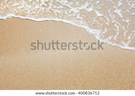 sand and wave background #400836712