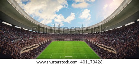 Stadium Royalty-Free Stock Photo #401173426
