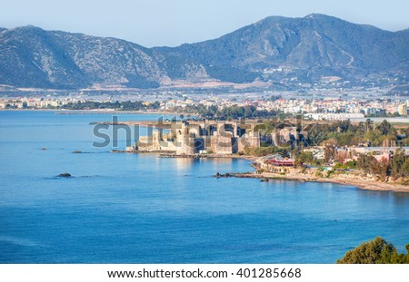 Mamure Castle , Anamur Turkey #401285668