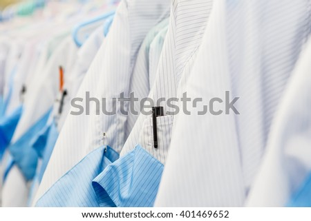 Clean room dress for factory #401469652