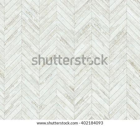 Chevron white parquet seamless floor texture