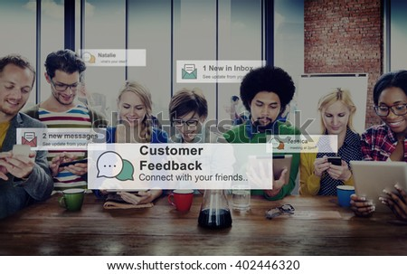 Customer Feedback Opinion Reply Report Concept #402446320