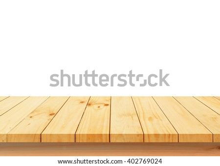 Wood floor texture  isolated on white background #402769024