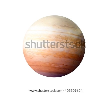 Planet Jupiter, Elements of this image furnished by NASA