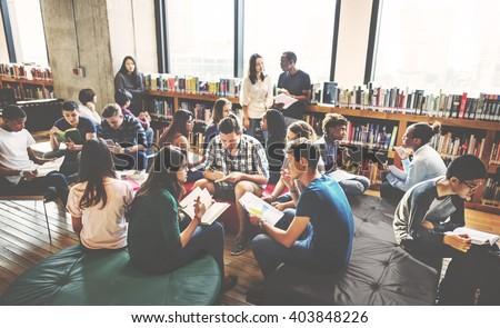 Classmate Classroom Sharing International Friend Concept #403848226