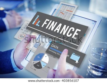 Finance Banking Profit Money Profit Concept Royalty-Free Stock Photo #403856107