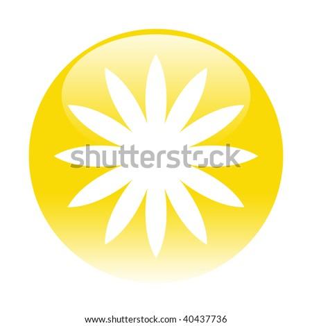flower button #40437736